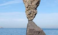 Fabbricanti di armonie in equilibri di pietre