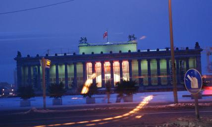 Berlino, il teatro e il professore